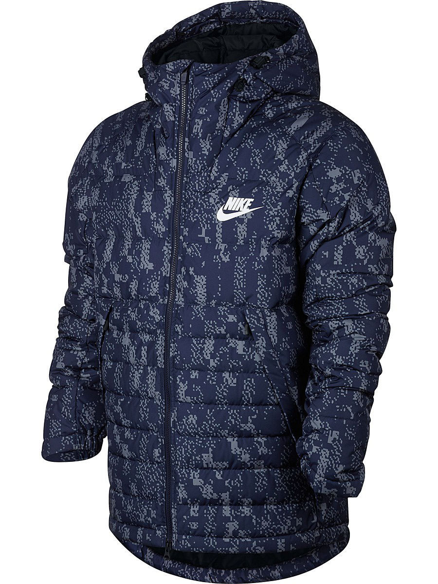 Пуховики Nike Пуховик M NSW DWN FILL JKT HD AOP SSNL