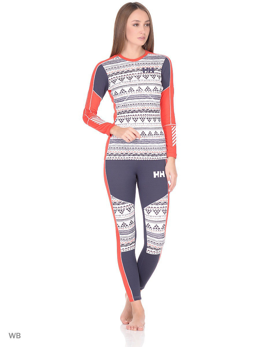 Термолонгсливы Helly Hansen Термолонгслив W HH LIFA ACTIVE GRAPHIC CREW леггинсы helly hansen леггинсы w hh lifa active graphic pant