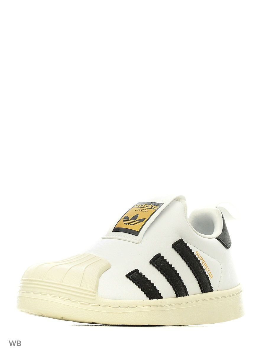 Кроссовки Adidas Кроссовки SUPERSTAR 360 C FTWWHT/CBLACK/CWHITE adidas x pharrell little kids superstar supercolor