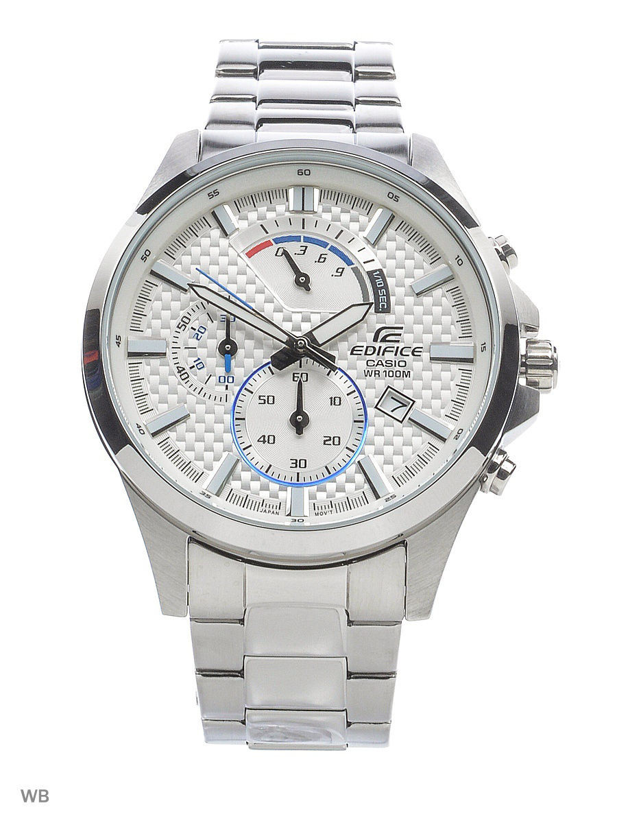 Часы наручные CASIO Часы EDIFICE EFV-530D-7A casio edifice efv 520l 7a