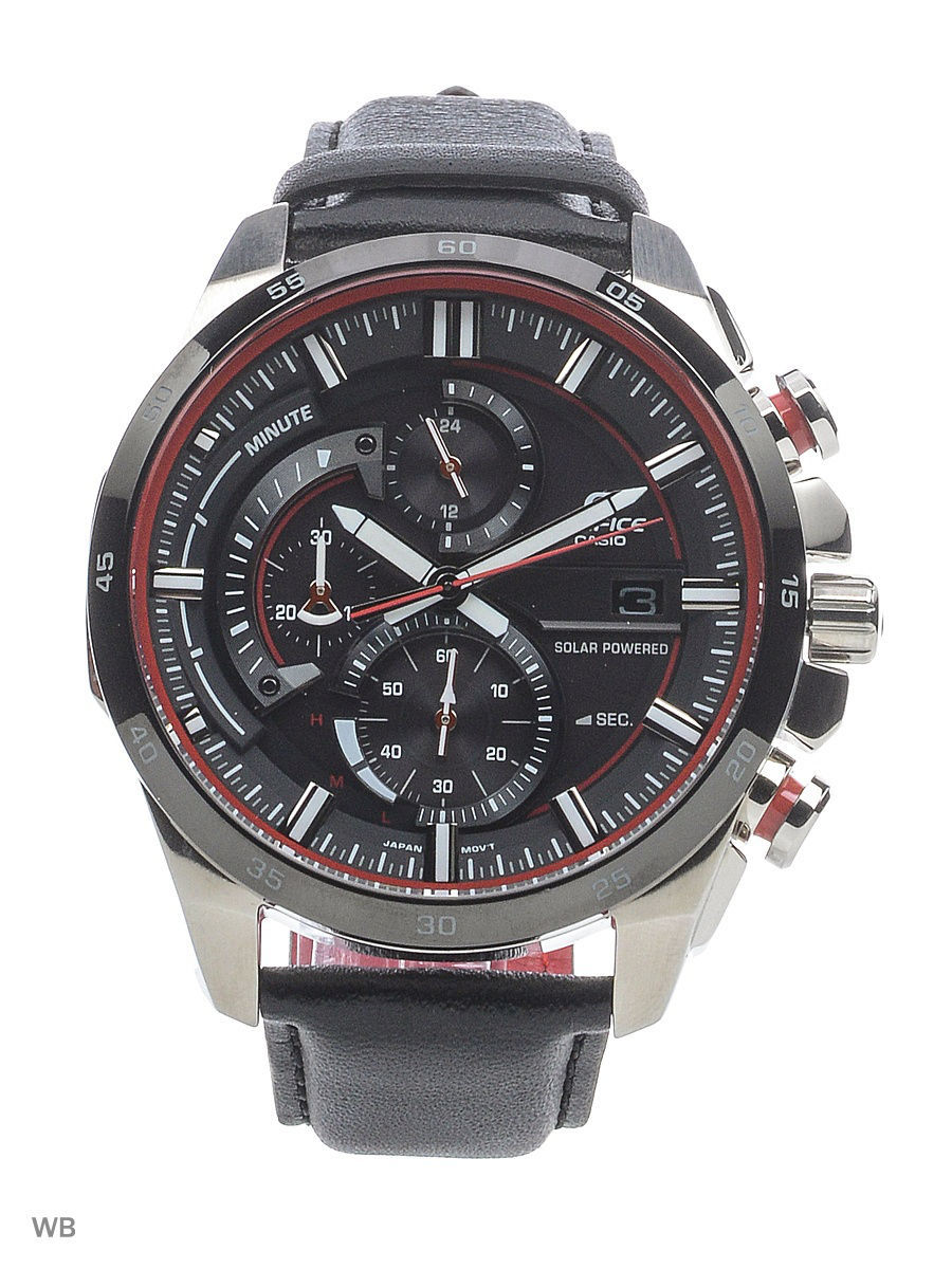 Часы наручные CASIO Часы EDIFICE EQS-600BL-1A casio eqs a1000rb 1a