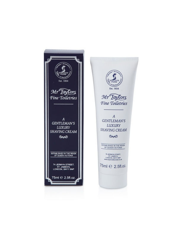 Кремы Taylor of Old Bond Street Крем для бритья Mr. Taylor Shaving Cream Tube 75мл taylor cole relogio tc013