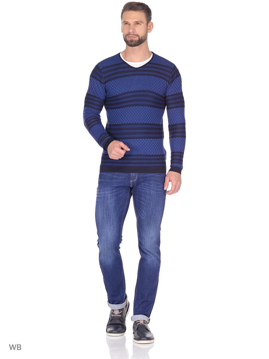 Свитер MOSSMORE 3131/NAVY-BLUE