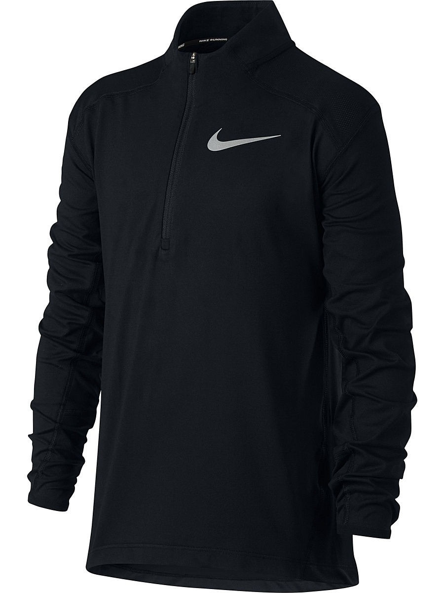Лонгслив Nike Лонгслив B NK BRTHE TOP ELMNT HZ лонгслив nike лонгслив m nk dry elmnt top hz