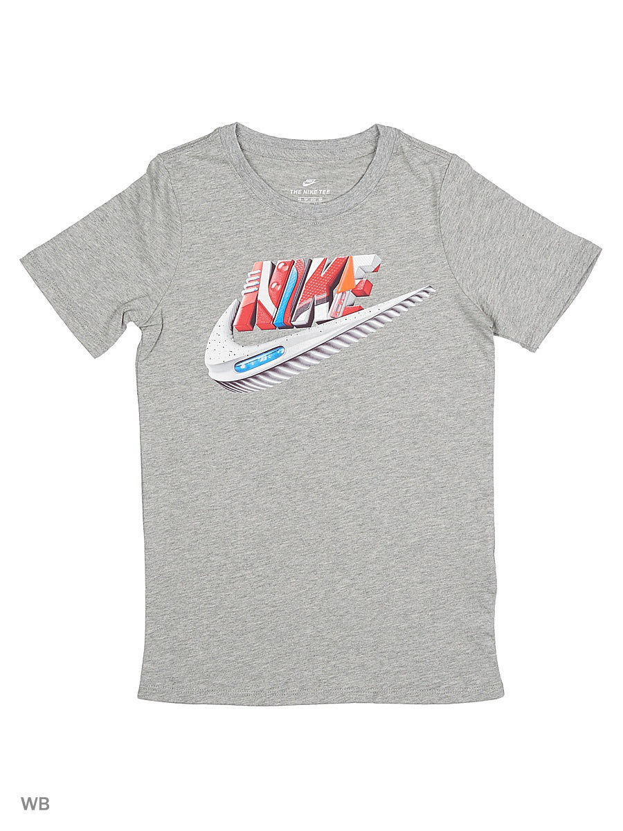 Футболка Nike Футболка B NSW TEE AIR MAX FUTURA футболка nike футболка b nsw tee ss air world