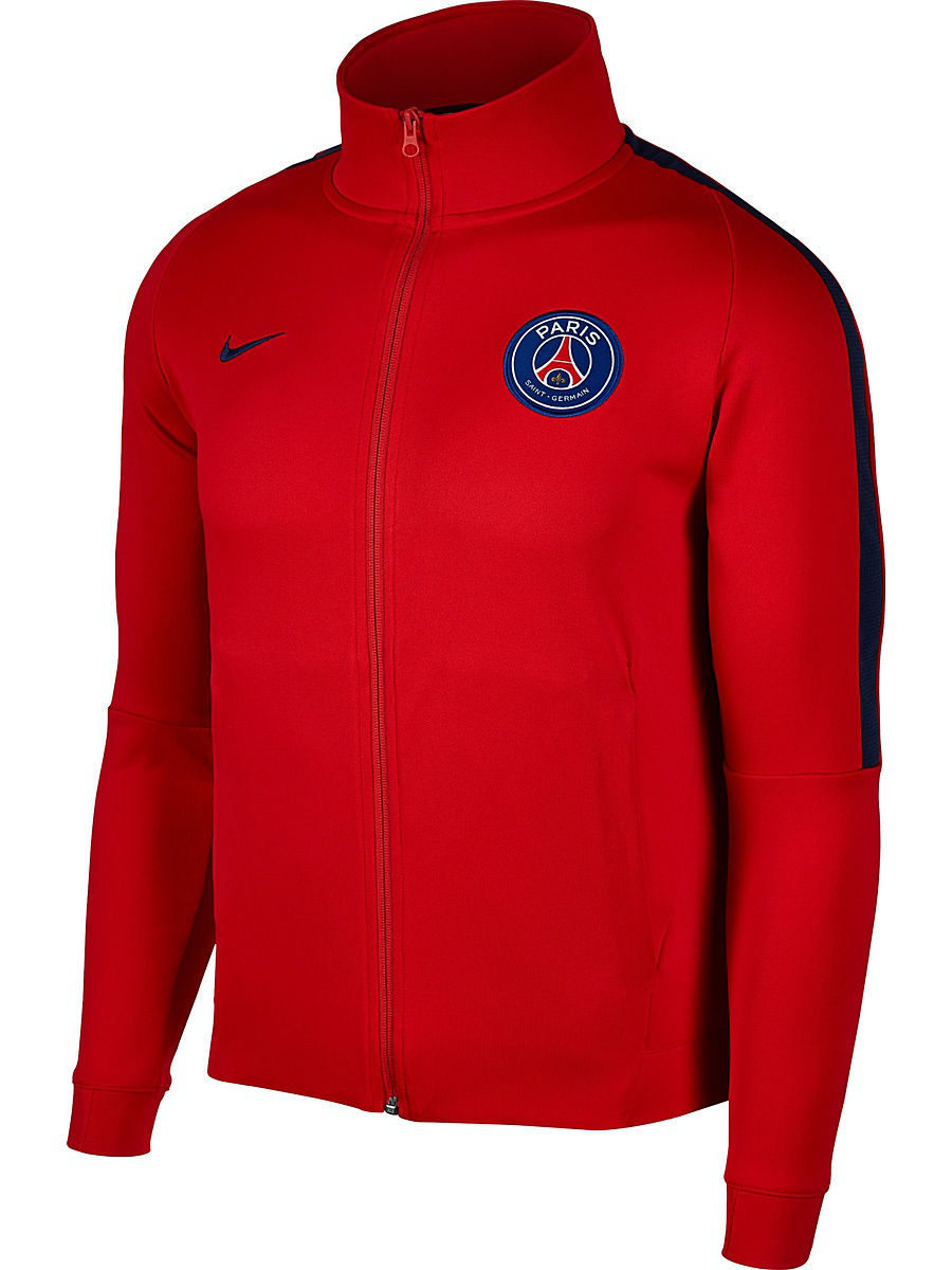Куртки Nike Куртка PSG M NSW JKT FRAN AUT psg paris saint germain bordeaux