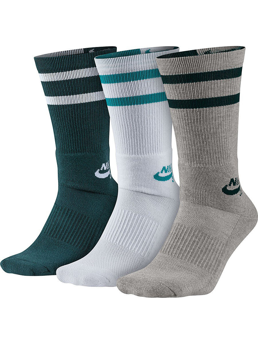 Гольфы Nike Гольфы SB 3PPK CREW SOCKS гольфы nike гольфы nike women s elt high intens