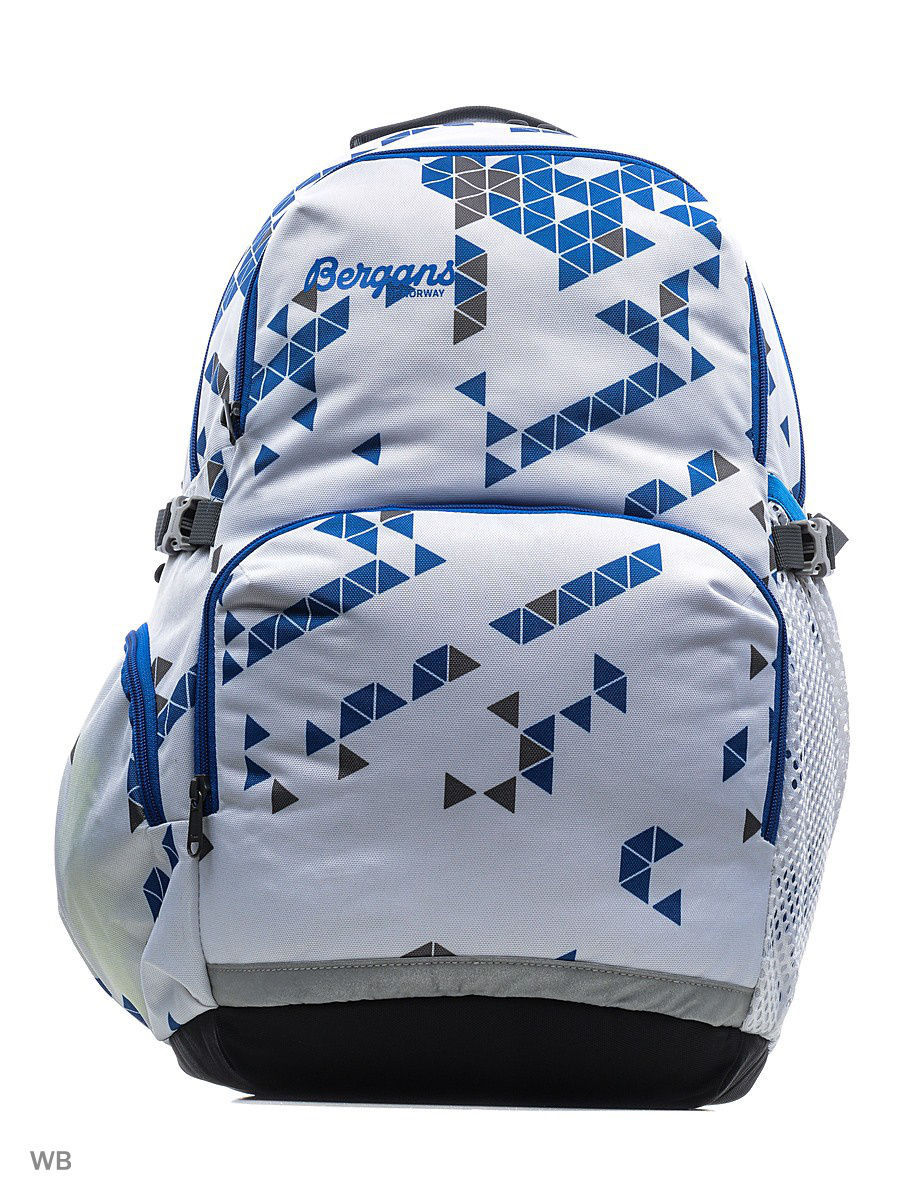 Рюкзак Bergans 4661/White/AthensBlueTriangle