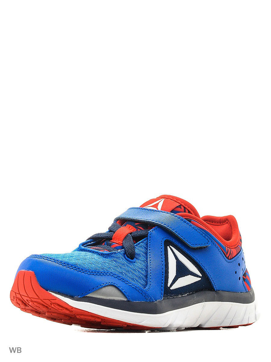 Кроссовки Reebok Кроссовки KIDS FUSION RUNNER BLUE/NAVY/RED/WHT reebok кроссовки жен reebok runner coal blk poison pink