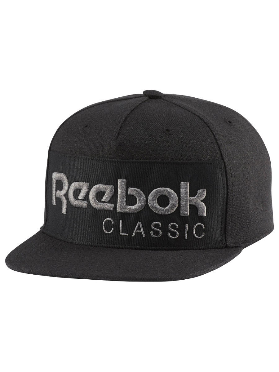 Бейсболки Reebok Бейсболка  CL FOUNDATION CAP BLACK/BLACK кальсоны laplandic m black l21 9230p
