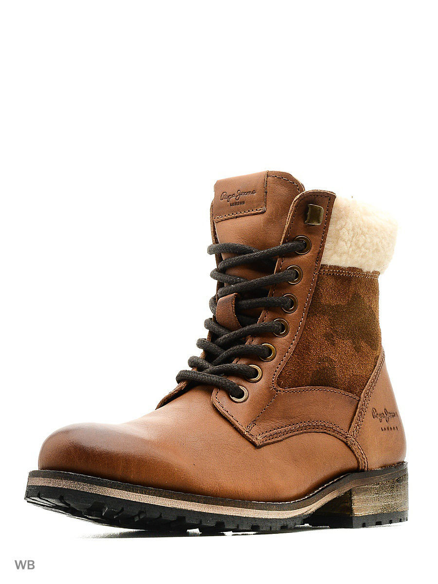 Женские ботинки Pepe Jeans London PLS50291/877nutbrown