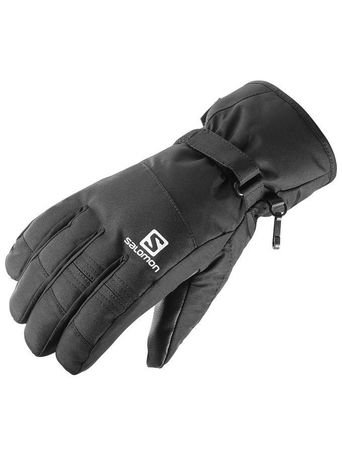 Перчатки SALOMON Перчатки GLOVES FORCE GTX M BLACK перчатки боксерские hayabusa ikusa charged 10oz gloves black purple