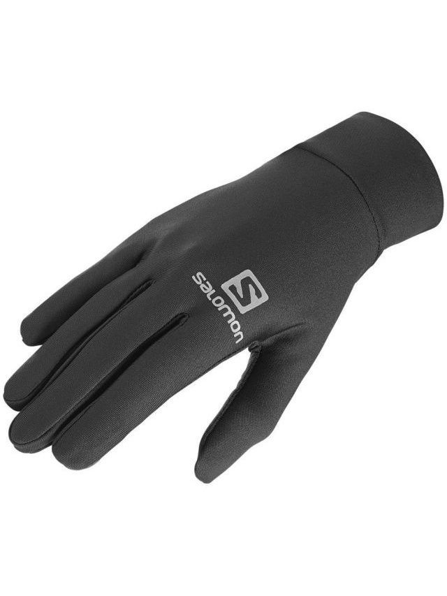 Перчатки SALOMON Перчатки GLOVES ACTIVE GLOVE U BLACK перчатки боксерские hayabusa ikusa charged 10oz gloves black purple