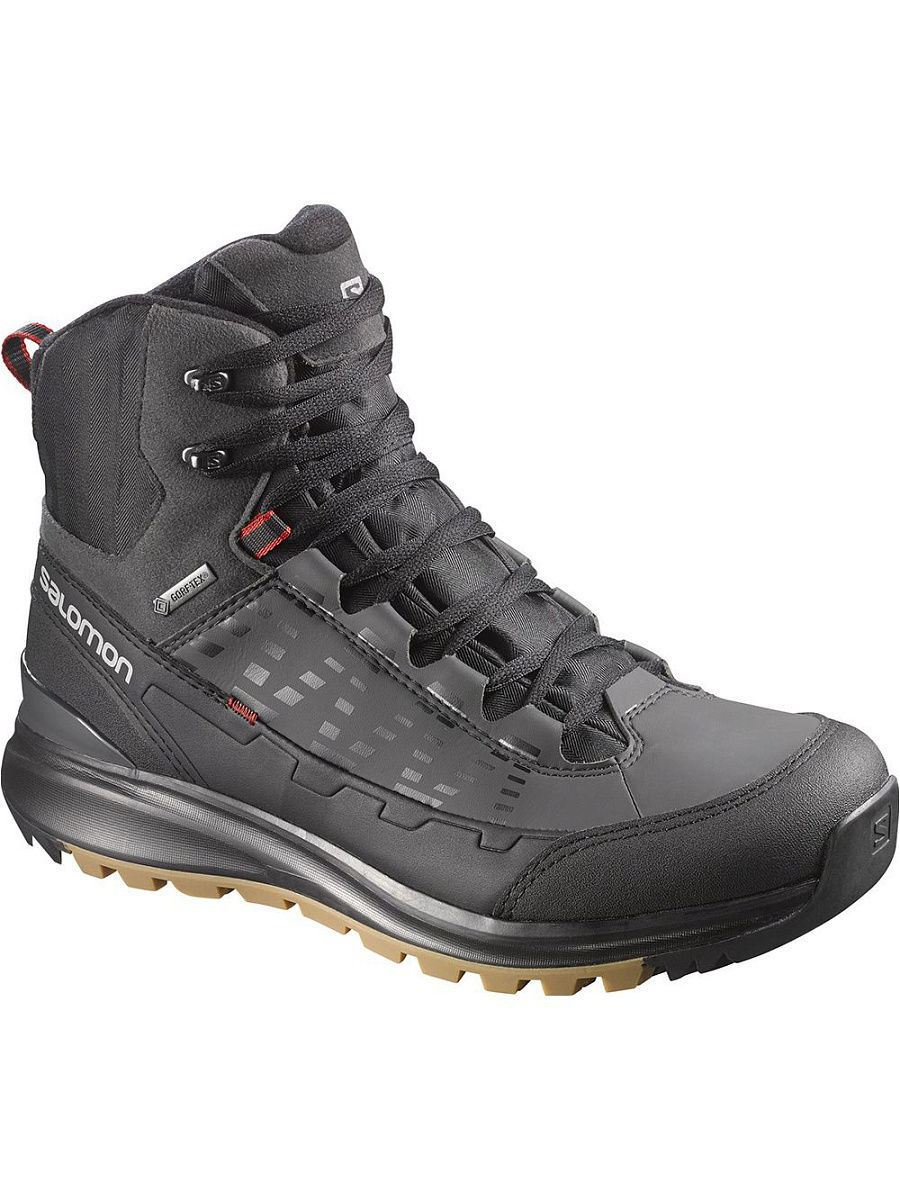Ботинки SALOMON Ботинки SHOES KAIPO MID GTX BLACK/ASPHALT/FLEA  salomon salomon x ultra mid 2 gtx женские