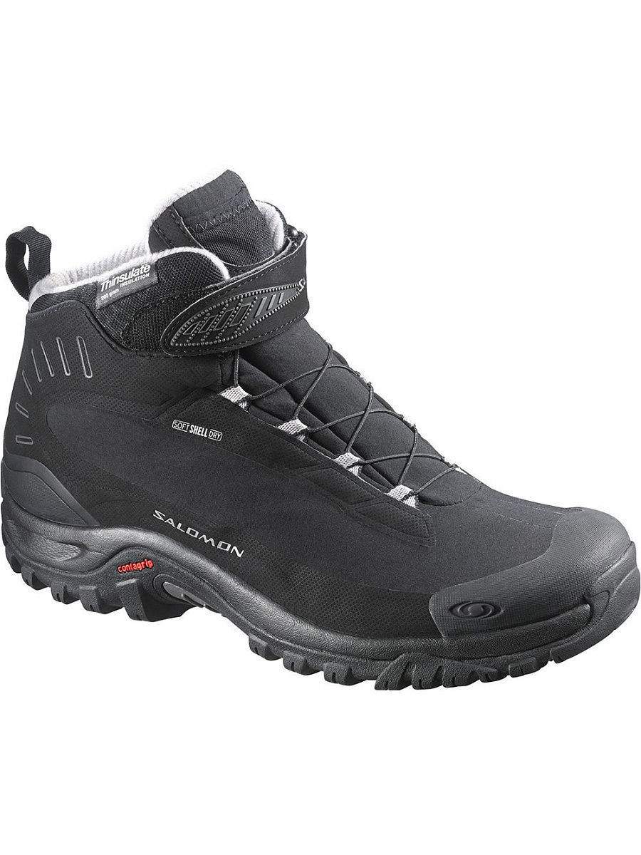 Ботинки SALOMON Ботинки SHOES DEEMAX 3 TS WP W BLACK/BLACK/ALU wp