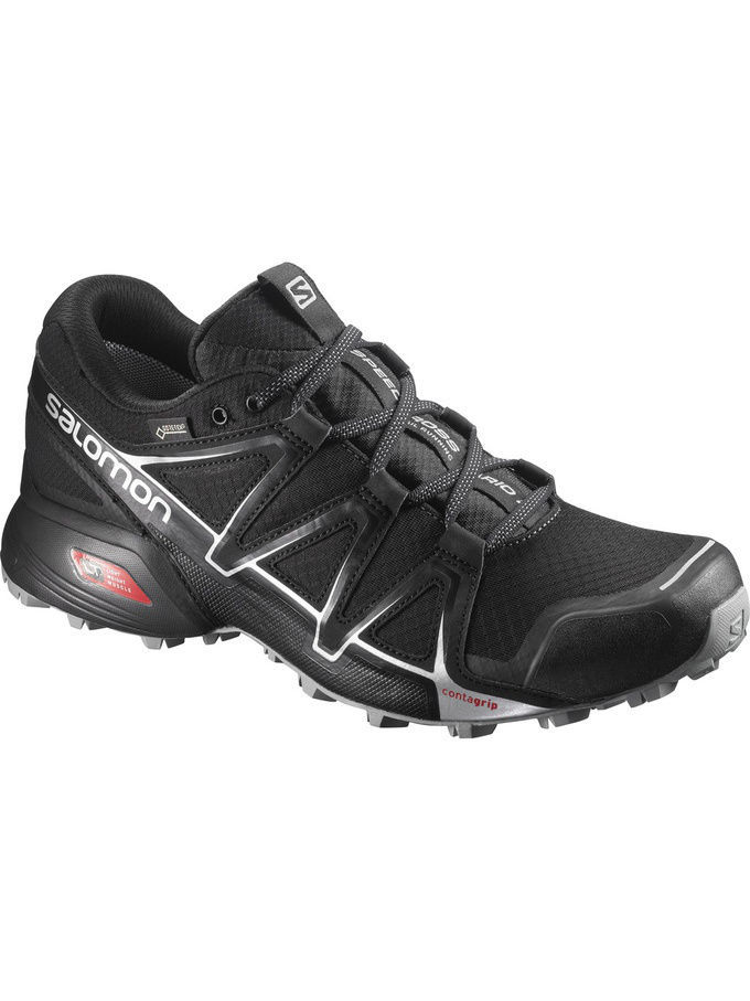 Кроссовки SALOMON Кроссовки SHOES SPEEDCROSS VARIO 2 GTX PHANTOM/BK кроссовки salomon кроссовки shoes xa lite bk quiet shad imperial b