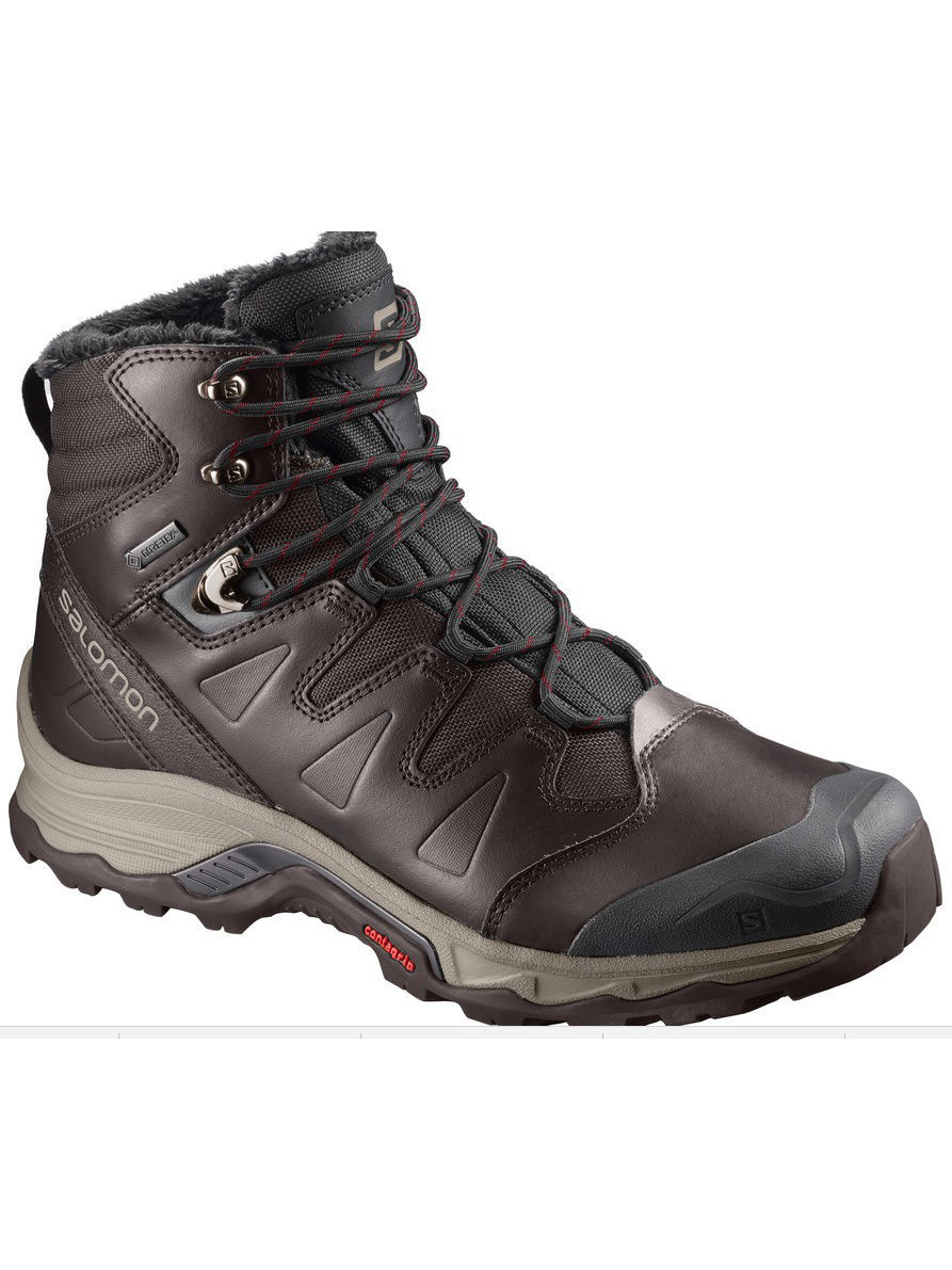 Ботинки SALOMON Ботинки SHOES QUEST WINTER GTX Black Coff/BK/Re ботинки meindl meindl minnesota gtx