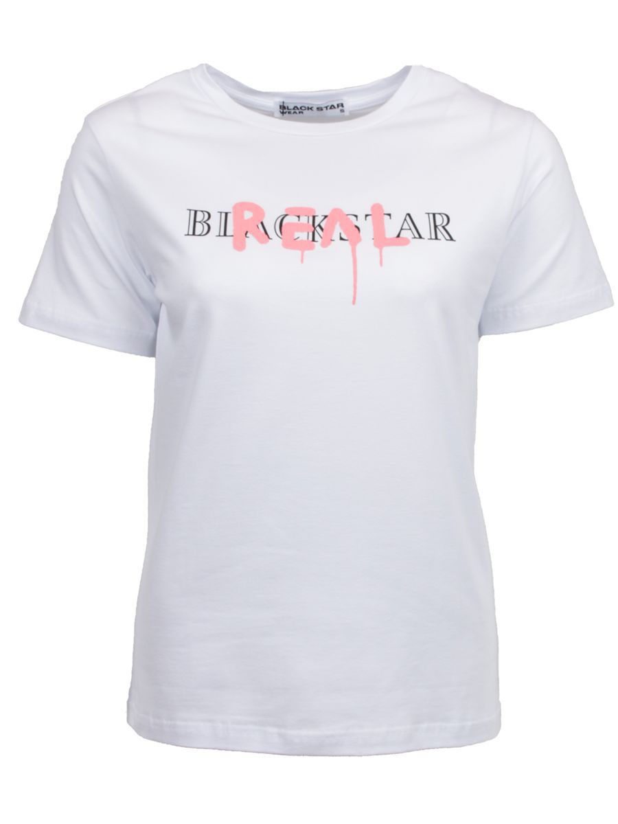 Футболка Black Star Wear Футболка REAL футболка black star wear футболка женская girls