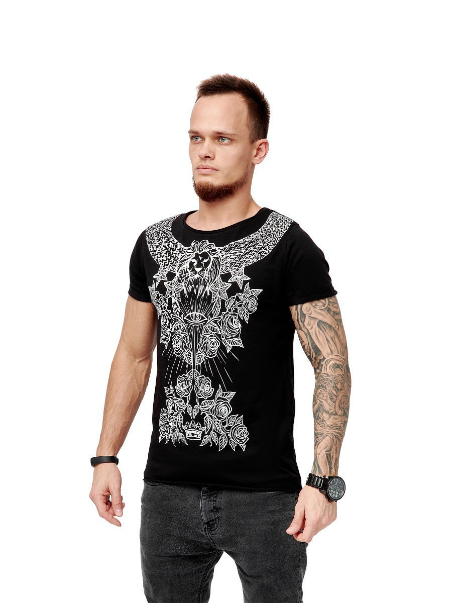 Футболка Black Star Wear Футболка мужская PATTERN BLACK STAR интернет магазин black star одежда