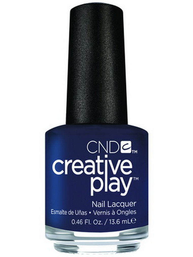 Лаки для ногтей CND Лак для ногтей CND 91106 Creative Play # 435 (Navy Brat), 13,6 мл cnd лосьон creative scentsations wildflower