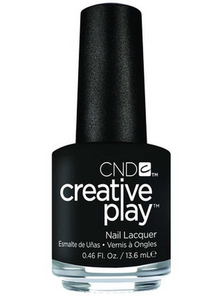 Лаки для ногтей CND Лак для ногтей CND 91122 Creative Play # 451 (Black + Forth), 13,6 мл cnd лосьон creative scentsations wildflower