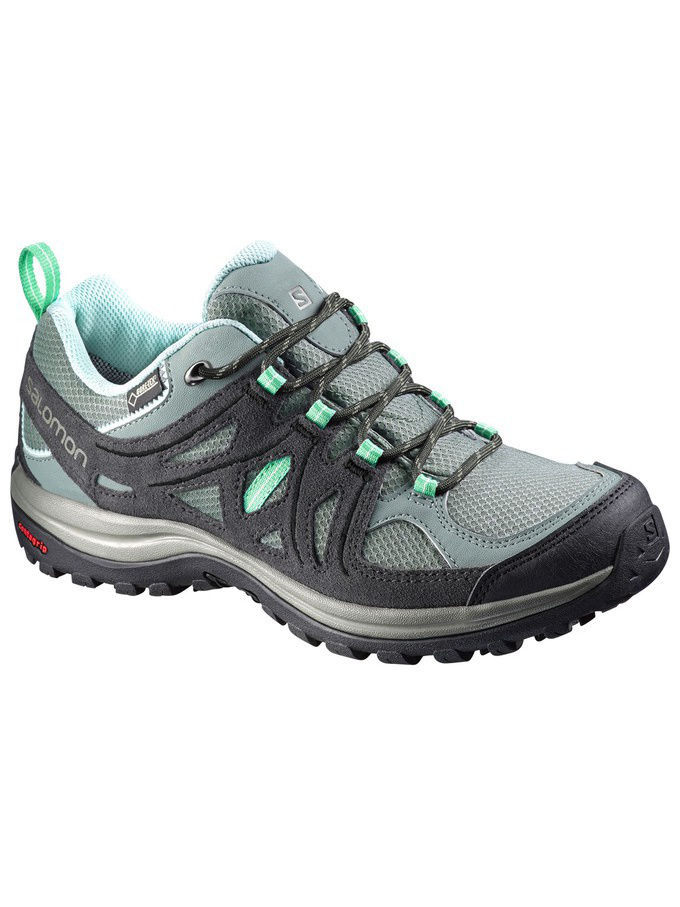 Кроссовки SALOMON Кросовки SHOES ELLIPSE 2 GTX W TT/ASPH/Jade Gree кроссовки salomon кроссовки shoes xa lite bk quiet shad imperial b