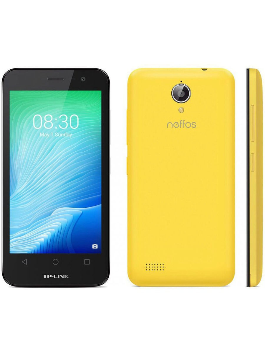 Смартфоны Neffos Смартфон Y50 Sunshine Yellow 8Gb гарнитура akg y50 yellow