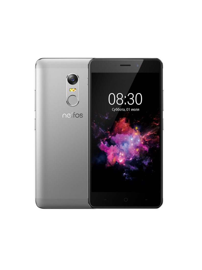Смартфоны Neffos Смартфон X1 Cloudy Grey 16Gb смартфоны micromax смартфон q409 cosmic grey