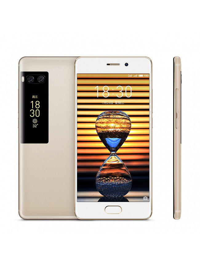 Смартфоны Meizu Смартфон Pro7 Gold 64Gb смартфон highscreen fest xl pro blue