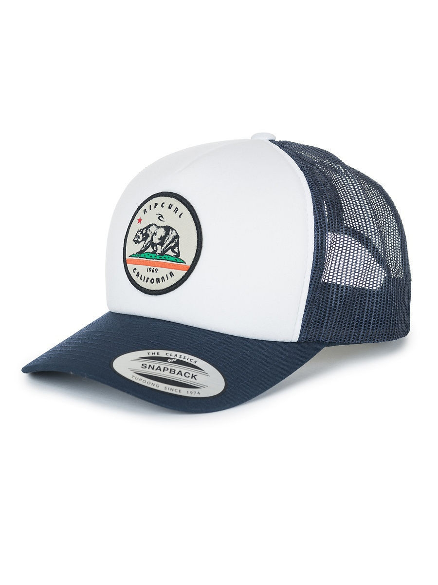 Кепки Rip Curl Кепка CALI BEAR TRUCKER CAP плавки rip curl плавки del sol revo hipster