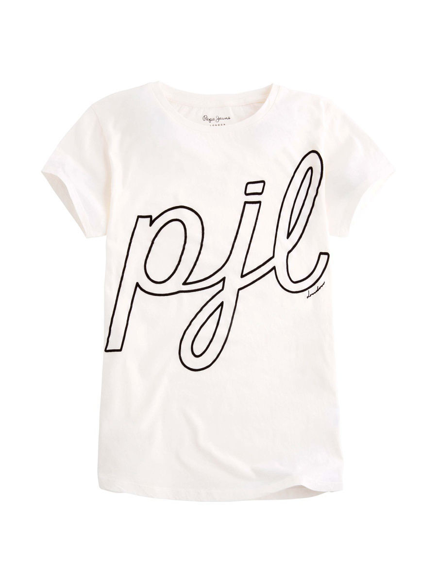 Футболка Pepe Jeans London PL502771/803OFFWHITE