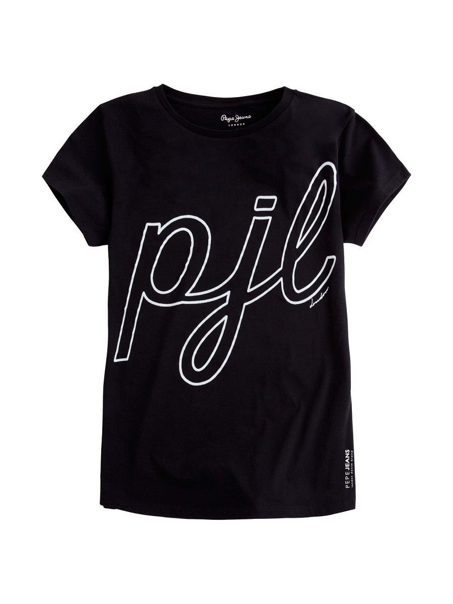 Футболка Pepe Jeans London PL502771/999BLACK