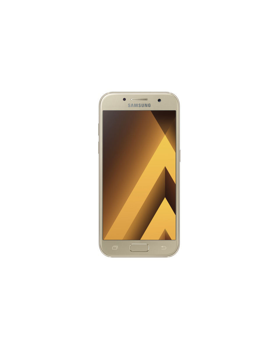 Cмартфон Galaxy A3 (2017) 16Gb Gold