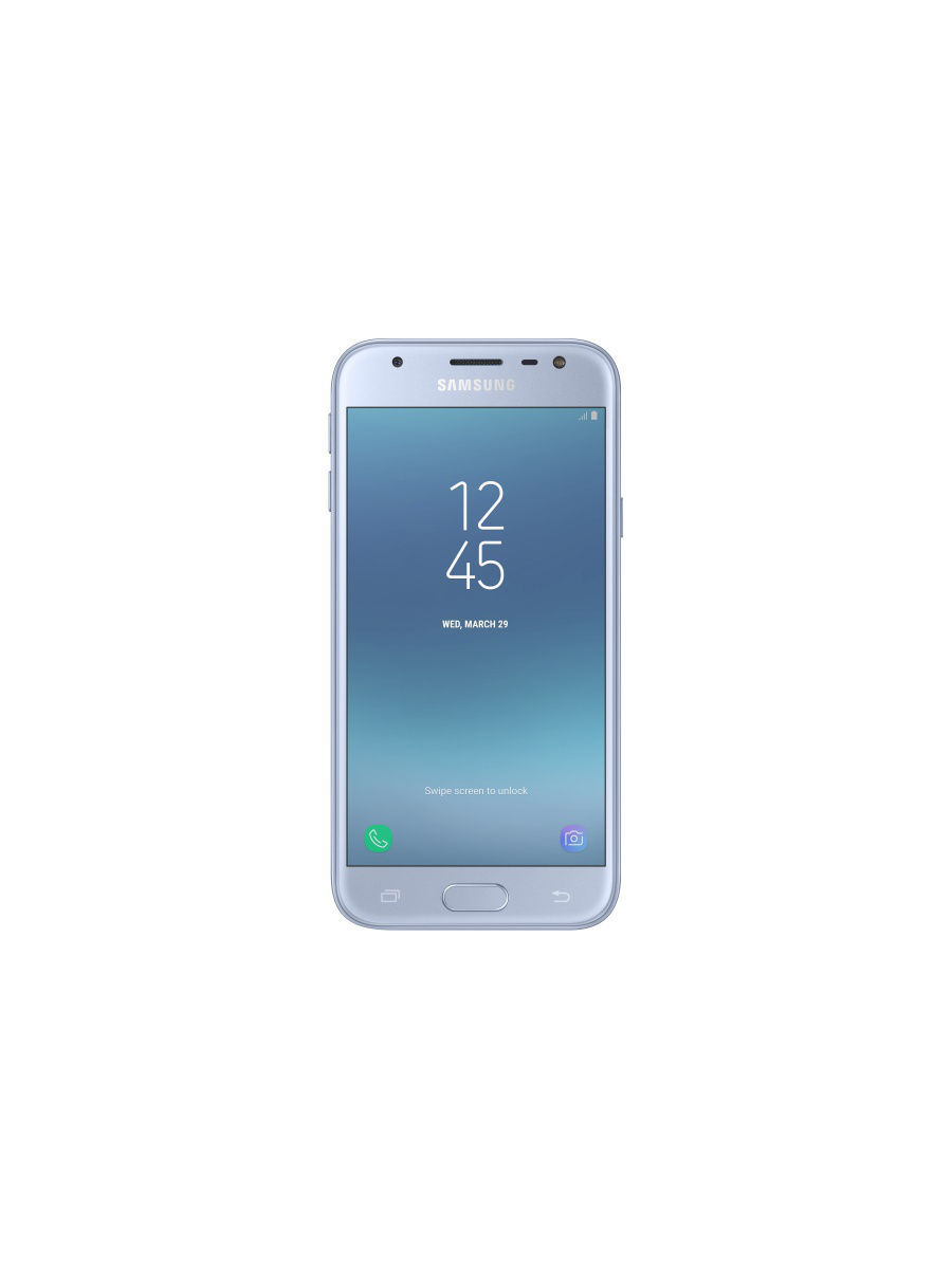 Cмартфон Galaxy J3 (2017) 16Gb Blue Silver