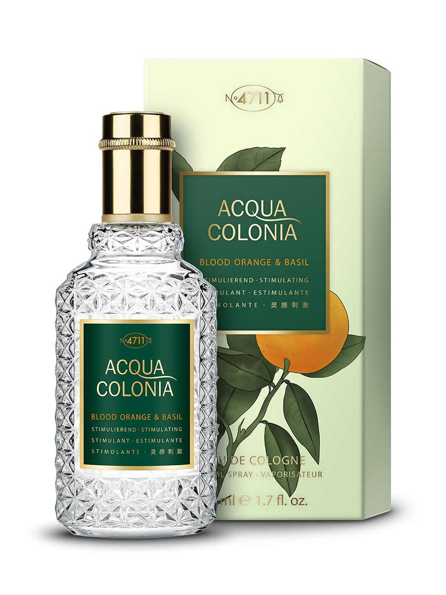 Одеколон 4711 ACQUA COLONIA Acqua Colonia 4711  Stimulating - Blood Orange & Basil МЖ Товар Одеколон 50мл acqua
