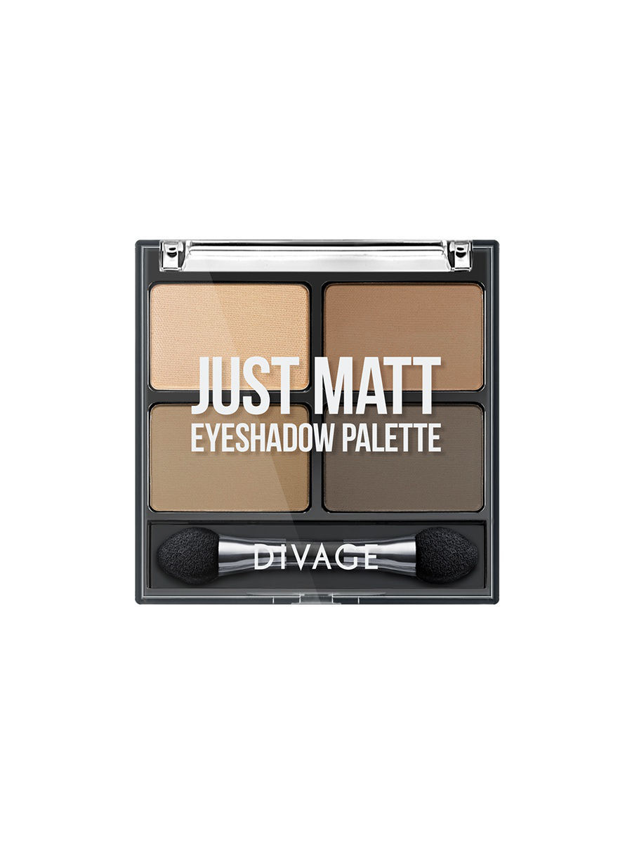 Тени DIVAGE Набор: палетка теней для век PALETTES EYE SHADOW & товар JUST MATT тон 01 тени nouba палетка теней для век unconventional eyeshadows 01 10гр