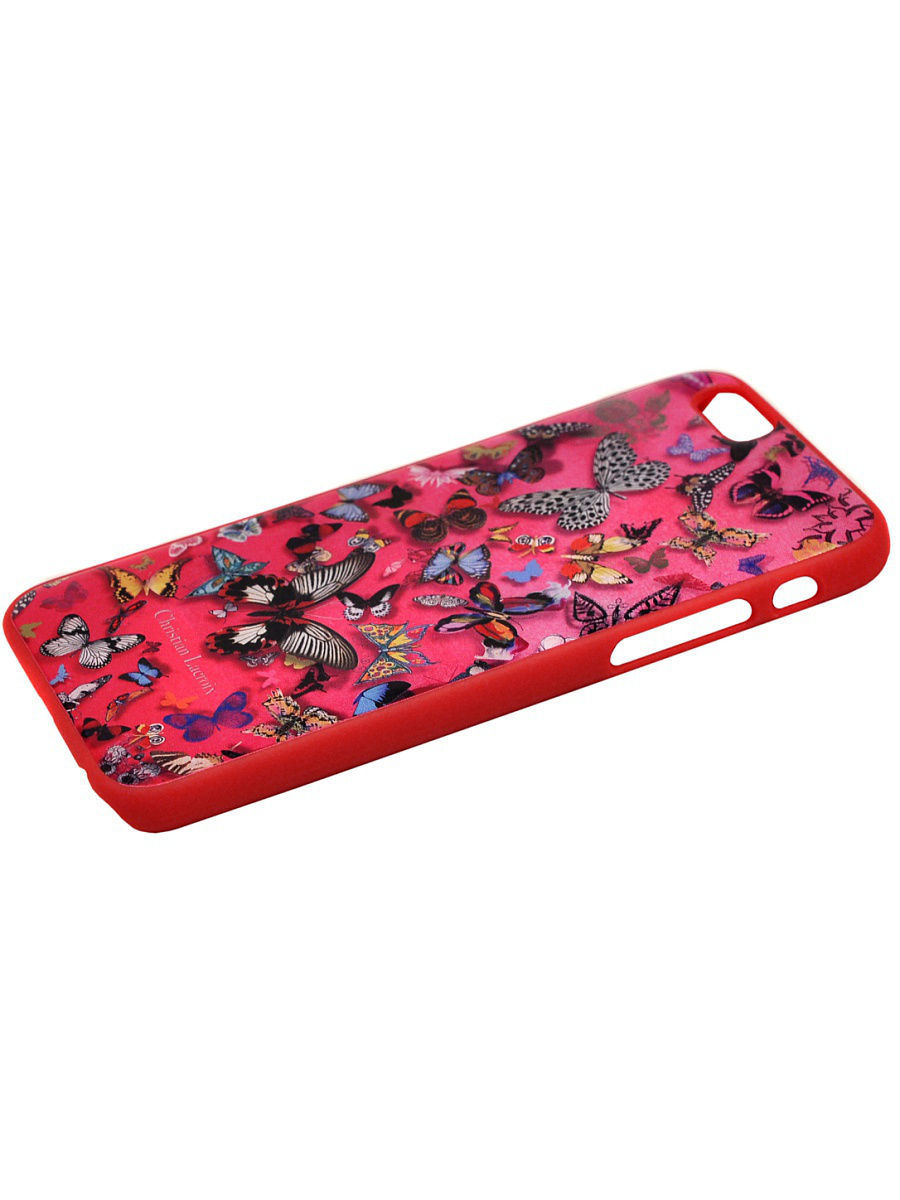 Чехлы для телефонов Christian Lacroix Чехол Lacroix для iPhone 6/6S Butterfly Hard Pink