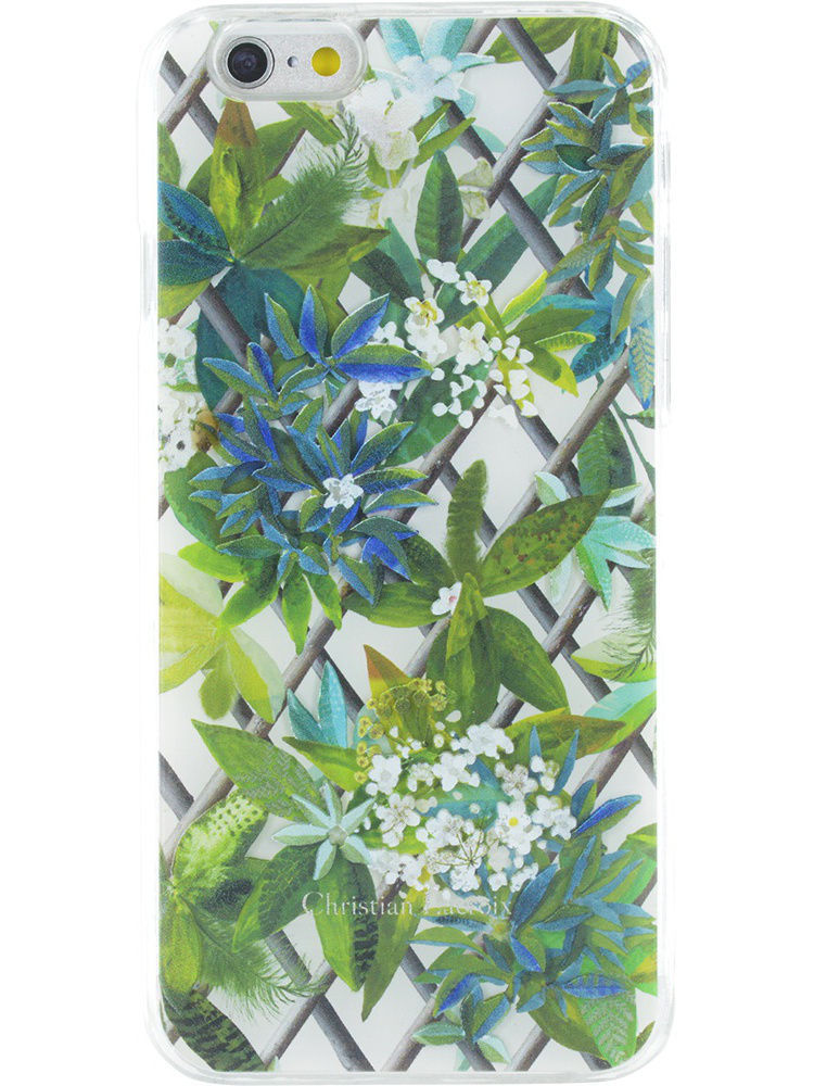 Чехлы для телефонов Christian Lacroix Чехол Lacroix для iPhone 6/6S CANOPY Hard Malachite
