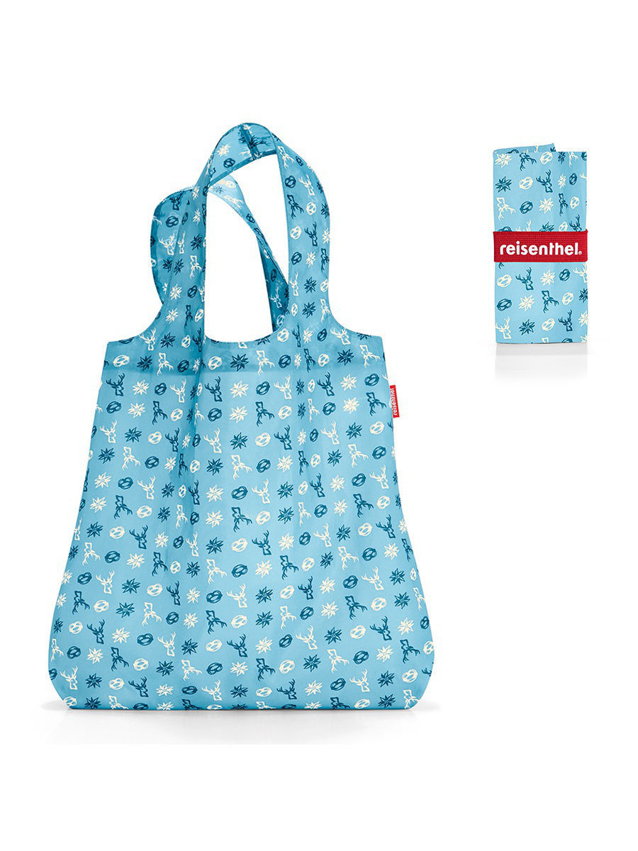 Сумки Reisenthel Сумка складная Mini maxi shopper bavaria denim сумка складная reisenthel mini maxi travelshopper