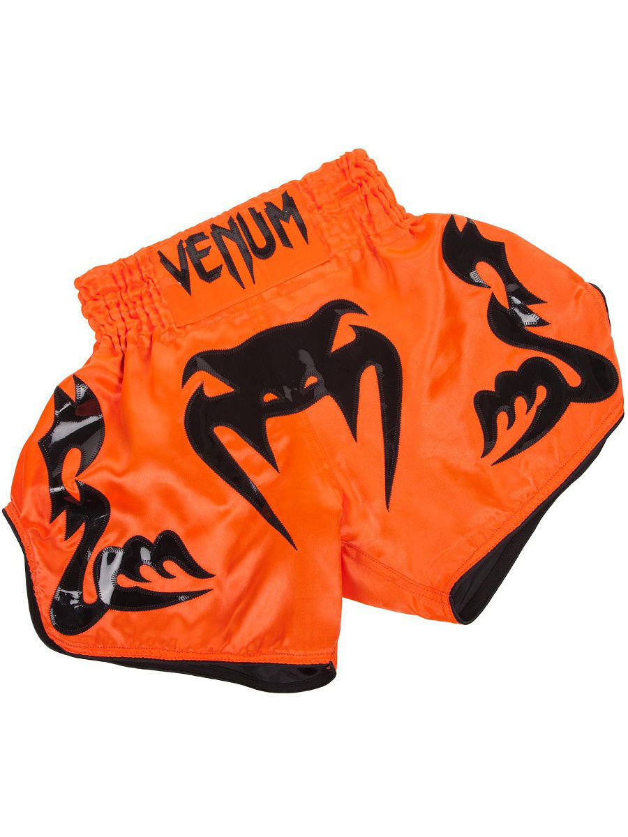 Шорты Venum Шорты тайские Venum Bangkok Inferno Neo Orange