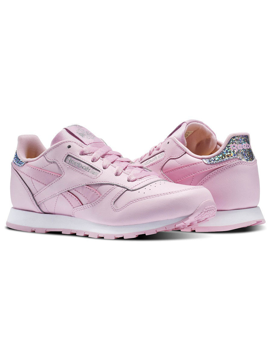 Кроссовки Reebok Кроссовки CLASSIC LEATHER PAS CHARMING PINK/WHITE кроссовки reebok кроссовки classic leather pas fresh blue white