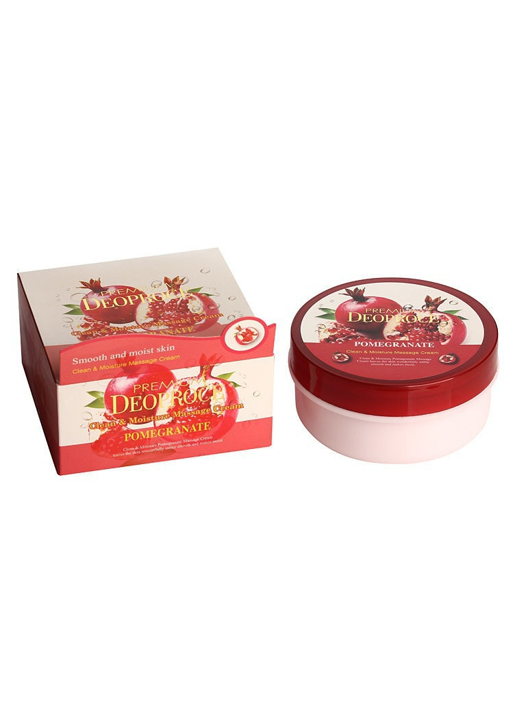 Кремы DEOPROCE Крем массажный с экстрактом граната PREMIUM CLEAN & MOISTURE POMEGRANATE MASSAGE CREAM 300g