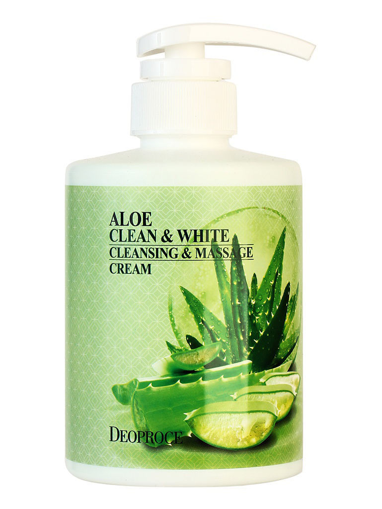 Кремы DEOPROCE Крем для тела с экстрактом алое DEOPROCE ALOE CLEAN & WHITE CLEANSING & MASSAGE CREAM 450мл люстра подвесная messina 1890 8 cream white