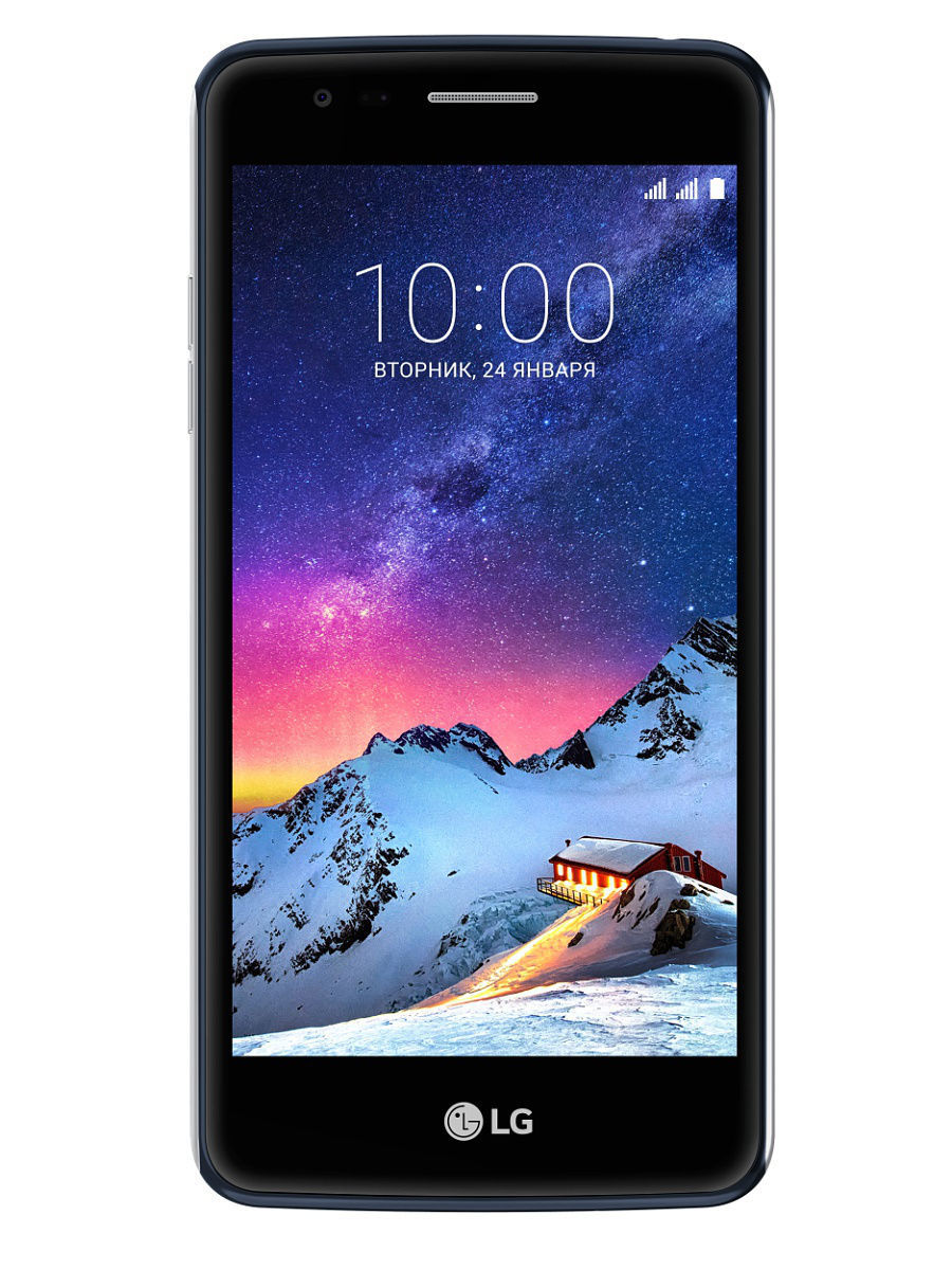 Смартфоны LG Смартфон K8 2017 X240 Black Blue lg 43uh750v black