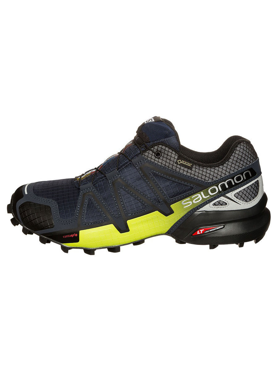 Кроссовки SALOMON Кроссовки SHOES SPEEDCROSS 4 NOCTURNE GTX Navy Bl кроссовки salomon кроссовки shoes xa lite bk quiet shad imperial b
