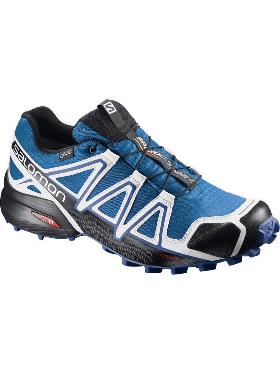 Кроссовки SALOMON Кроссовки SHOES SPEEDCROSS 4 GTX WHITE SENSIF Ind кроссовки salomon кроссовки shoes xa lite bk quiet shad imperial b