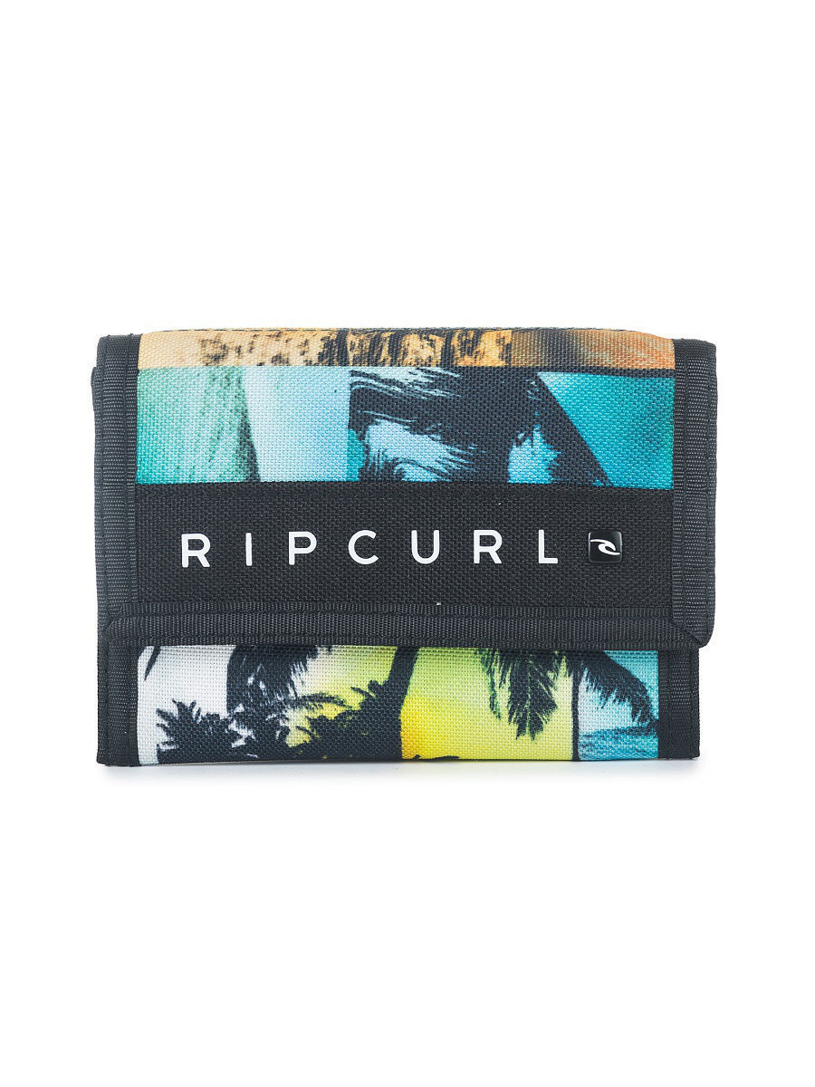 Кошельки Rip Curl Кошелек  SURF WALLET OCEAN GLITCH плавки rip curl плавки del sol revo hipster