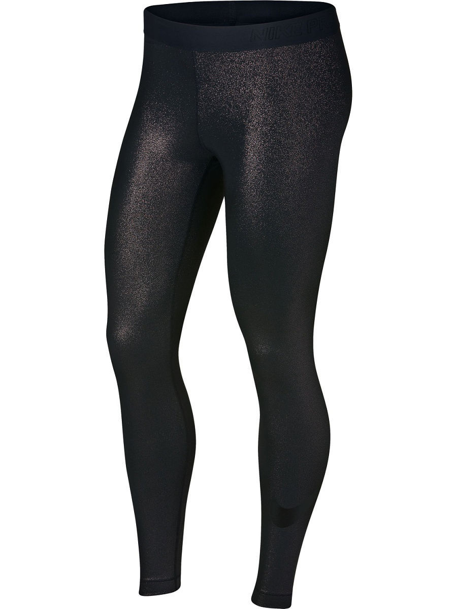 Тайтсы Nike Тайтсы NIKE PRO COOL TIGHT SPARKLE nike легинсы женские nike pro cool