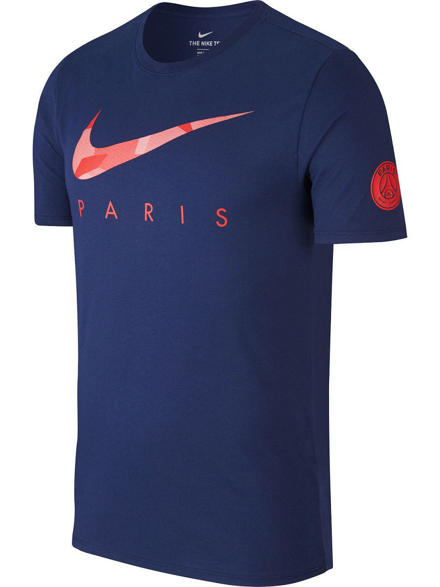 Футболка Nike Футболка PSG M NK DRY TEE PRESEASON psg paris saint germain bordeaux