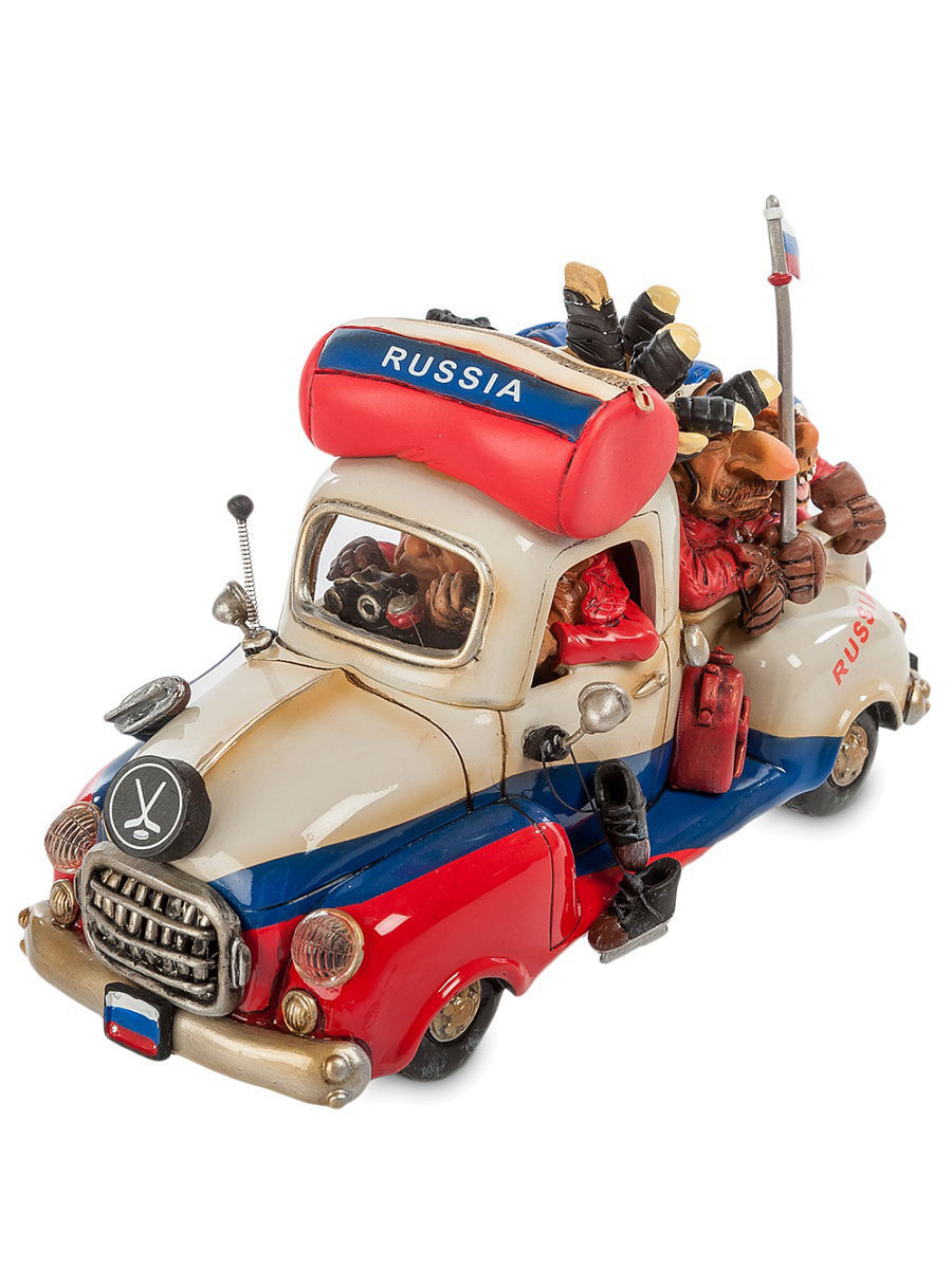 Статуэтки The Comical World of Stratford Машина ''Russia Road Trip'' fred and ted s road trip